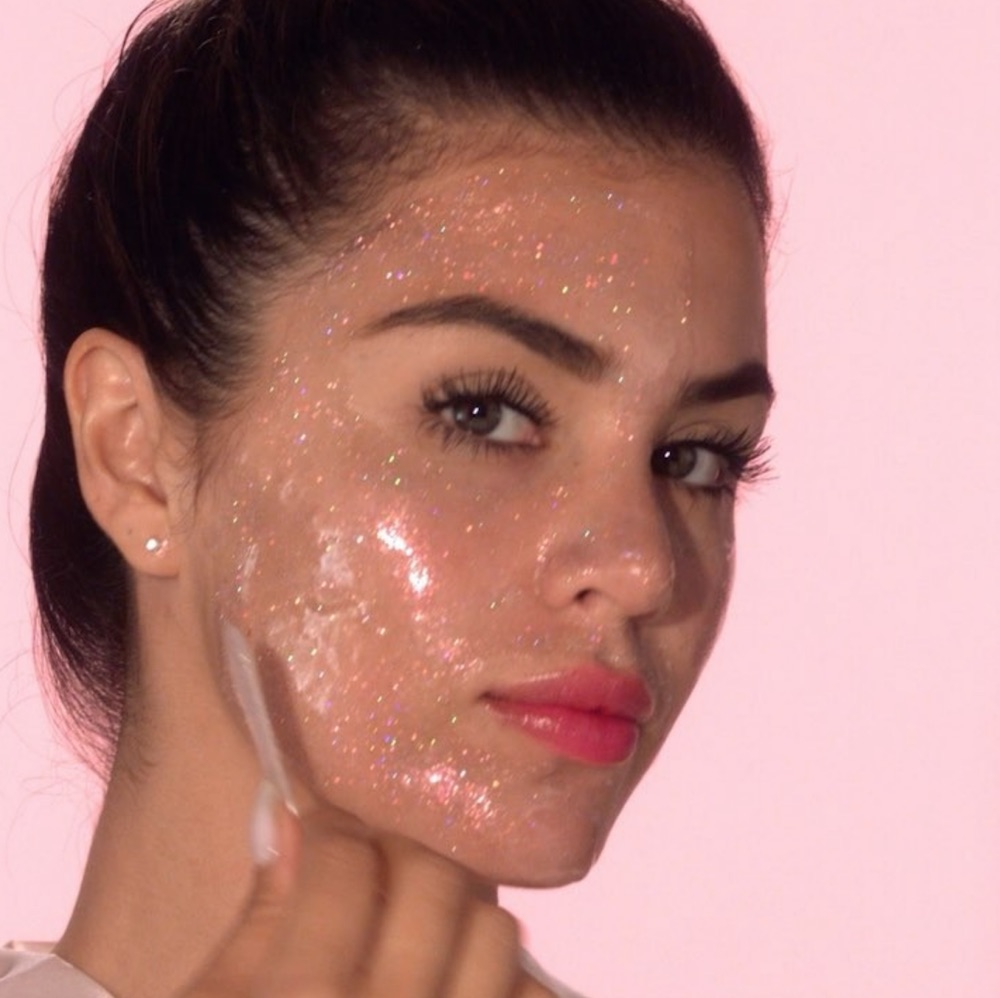 Too Faced's new peel-off mask will make your face sparkle like diamonds