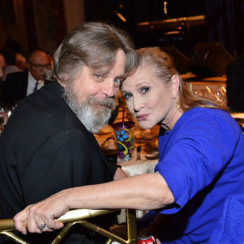 Mark Hamill posted a touching tribute to Carrie Fisher for Thanksgiving