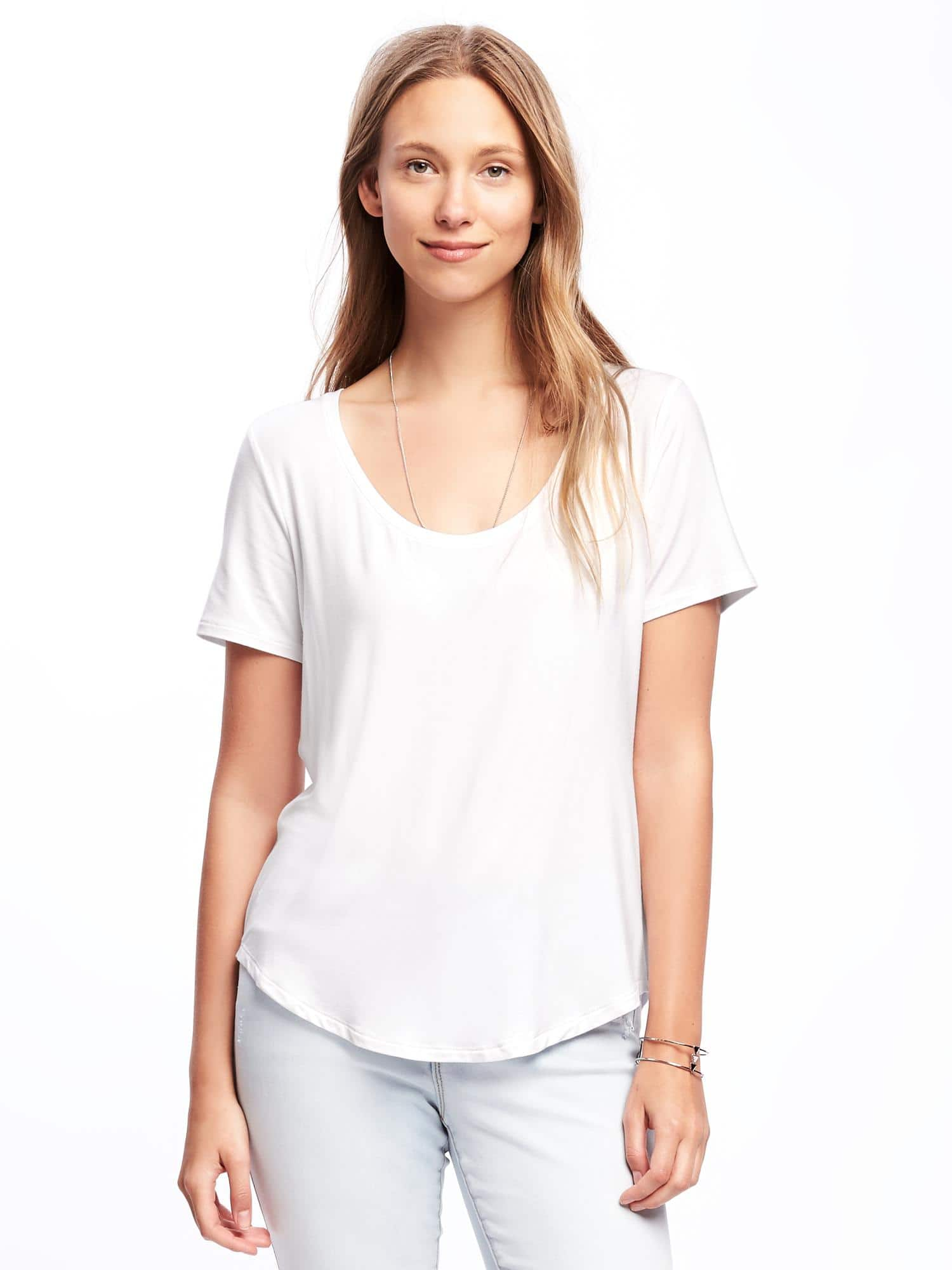 cb38a1a31 11 cheap, perfect white T-shirts, because expensive white tees are a ...