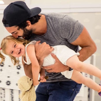 Justin Baldoni tries to always remind his daughter that she's more than just pretty, and we love that
