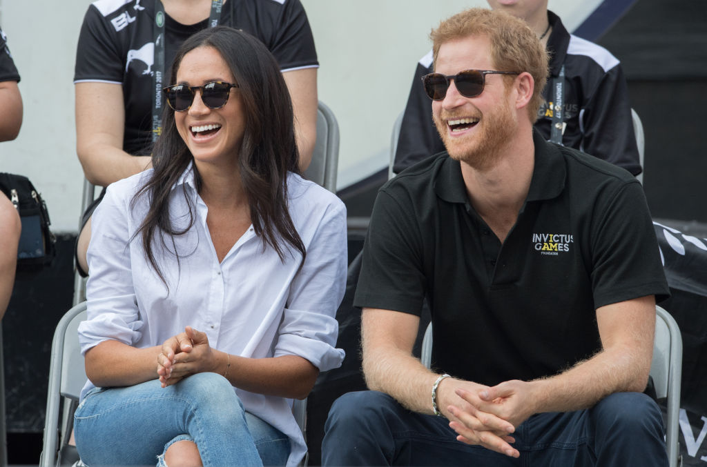 Buckingham Palace just addressed those Prince Harry and Meghan Markle engagement rumors