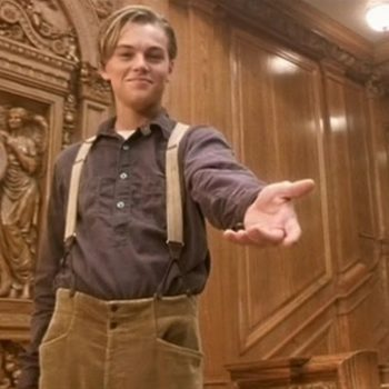 "You probably missed this historically accurate detail at the end of ""Titanic"""