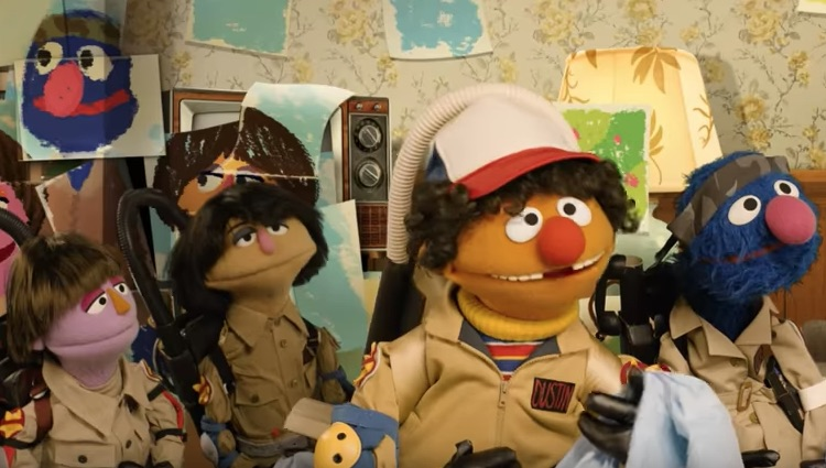 "Stop everything and watch this ""Sesame Street"" parody of ""Stranger Things"""