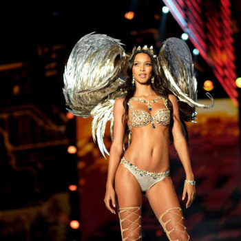 Lais Ribeiro walked in the Victoria's Secret Fashion Show with visible stretch marks, proving that every body is beautiful