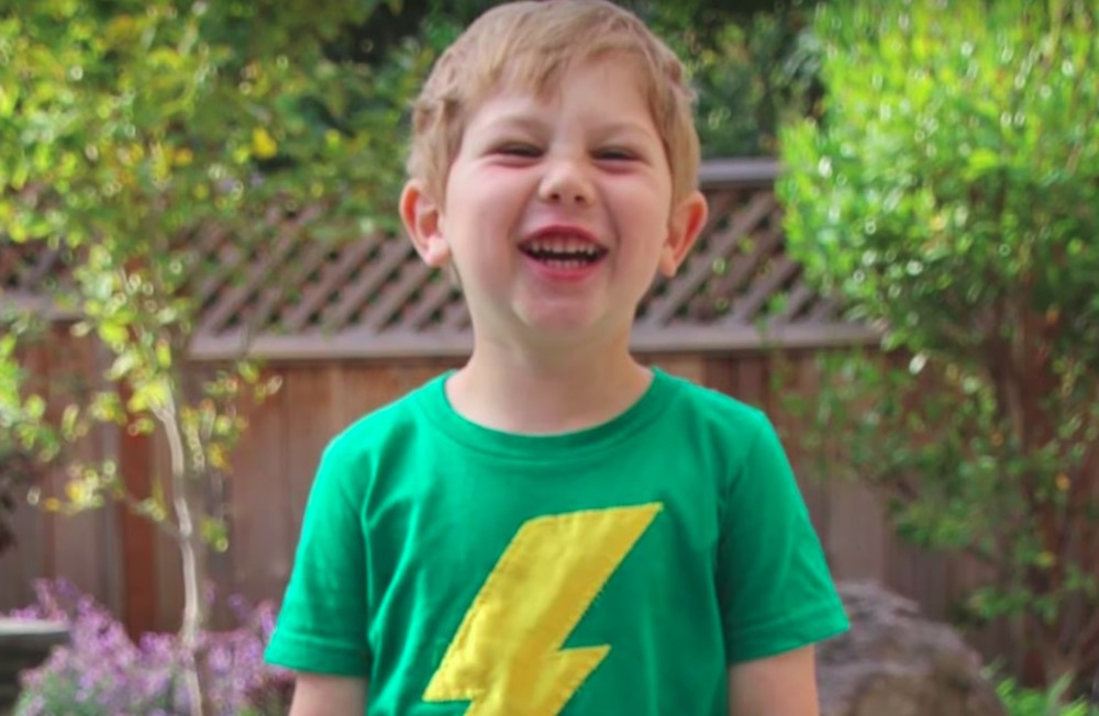 """A 6-year-old invented the word """"levidrome,"""" and he needs your help getting it added to the Oxford Dictionary"""