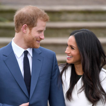 Meghan Markle wore an all-white trench coat for her engagement announcement, and here's where you can get one