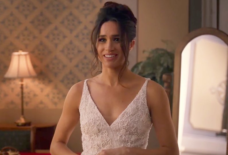 "Meghan Markle says this famous American wedding dress is ""goals"""