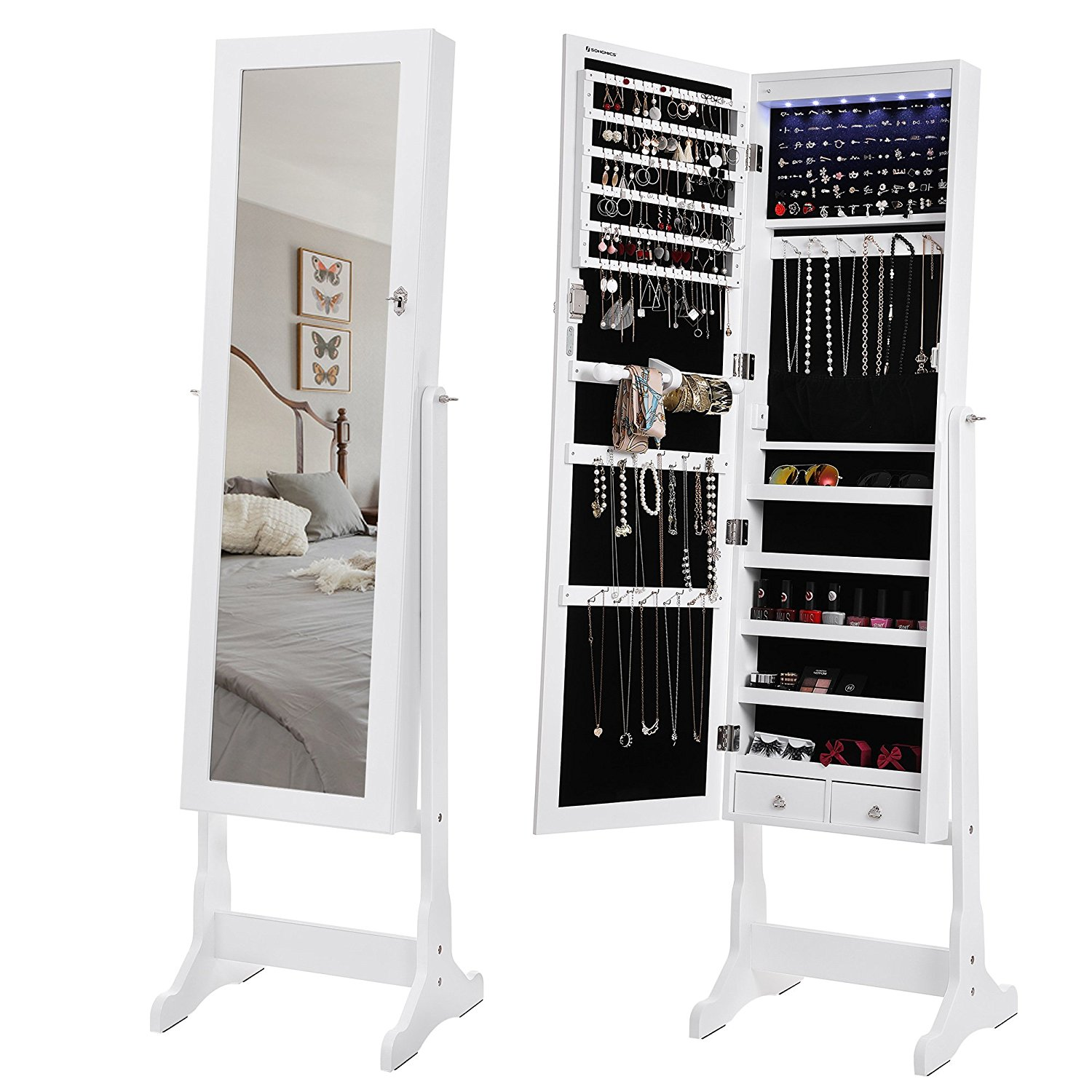 13 cyber monday deals you can get on amazon furniture - Armoire miroir a bijoux ...