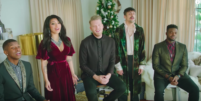 """Pentatonix's cover of """"Deck the Halls"""" will have you itching to put up your holiday decorations"""
