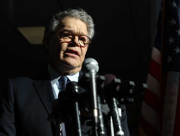 "Al Franken said he's ""embarrassed and ashamed"" by groping accusations against him"
