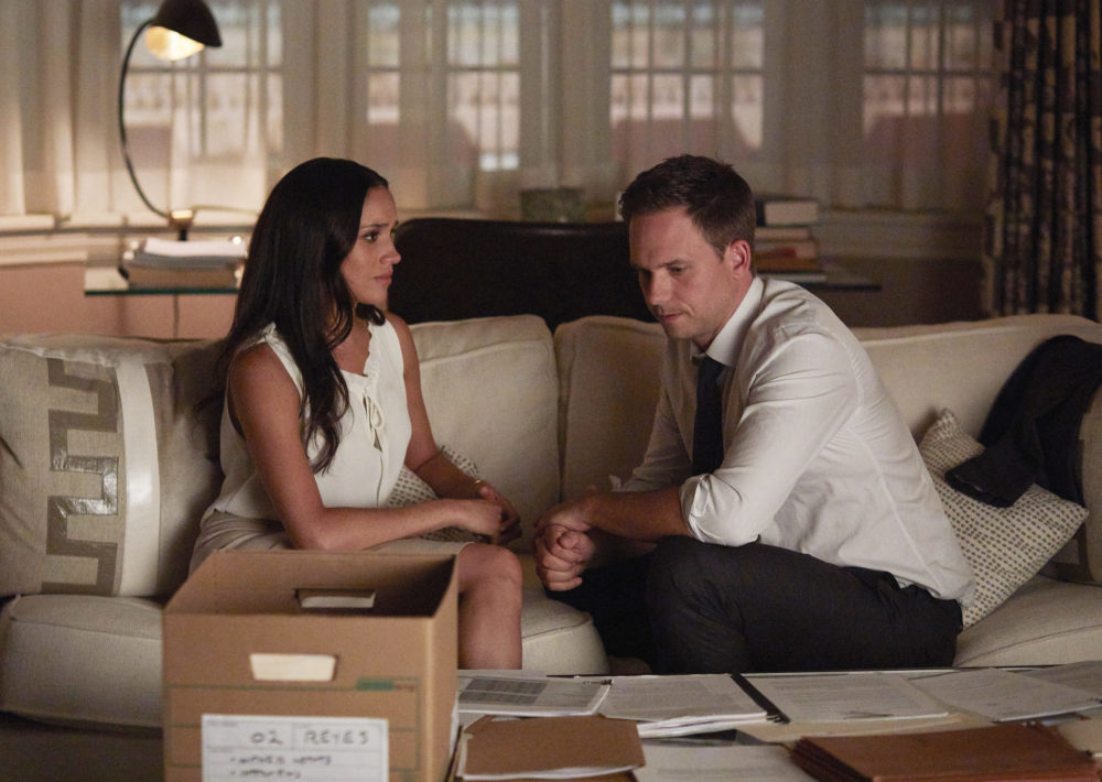 "Here's what's happening with Meghan Markle's character on ""Suits,"" just FYI"