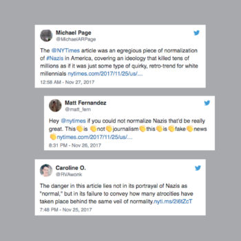 "Here are the most savage tweets about the ""New York Times"" piece that sympathized with a white supremacist"