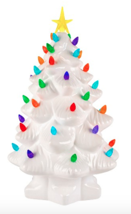 10mr christmas ceramic light up tree 30