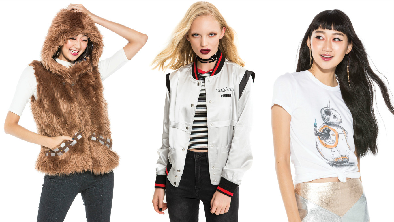 """Hot Topic's latest collaboration with Her Universe is straight out of our """"Star Wars"""" fashion dreams"""