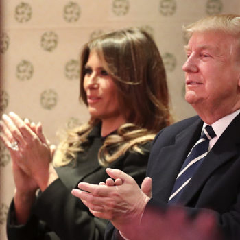 Donald Trump just denied reports that Melania didn't want to be First Lady, and we don't know what to think anymore