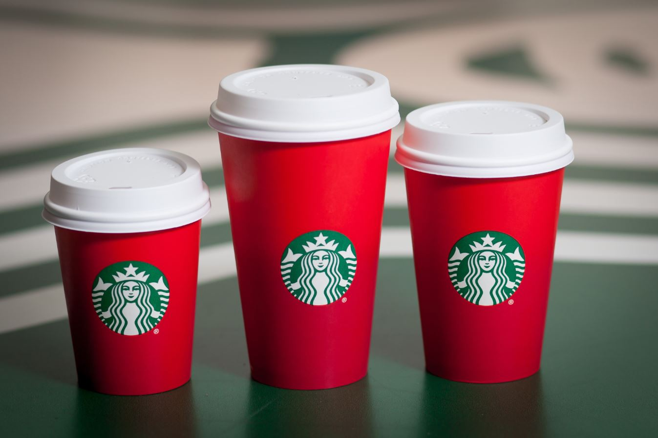 The Starbucks red holiday cup is back — with a twist