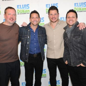 98 Degrees revealed the most awkward fan gift they've ever gotten