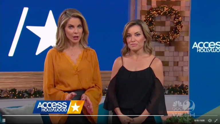 """""""Access Hollywood"""" just clapped back at Trump after he reportedly claimed that infamous tape is fake"""