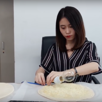 This woman makes elaborate meals at work, and we have 11 questions