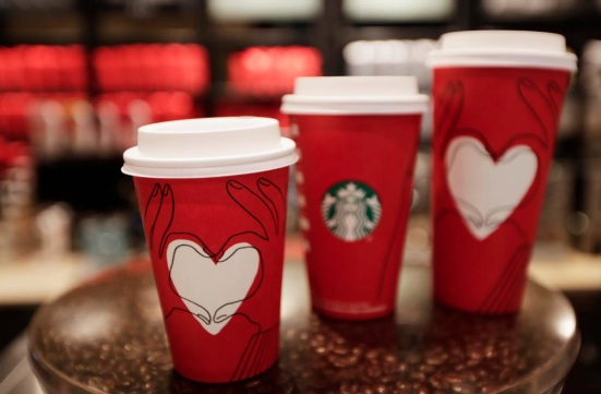 "Some people think Starbucks' new red holiday cups are promoting a ""gay agenda,"" and, what?"