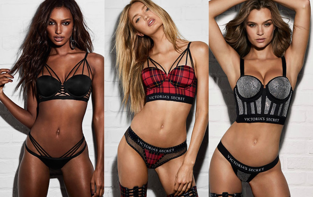 The Victoria's Secret x Balmain collab just dropped, and it's the sexiest punk rock lingerie we've seen