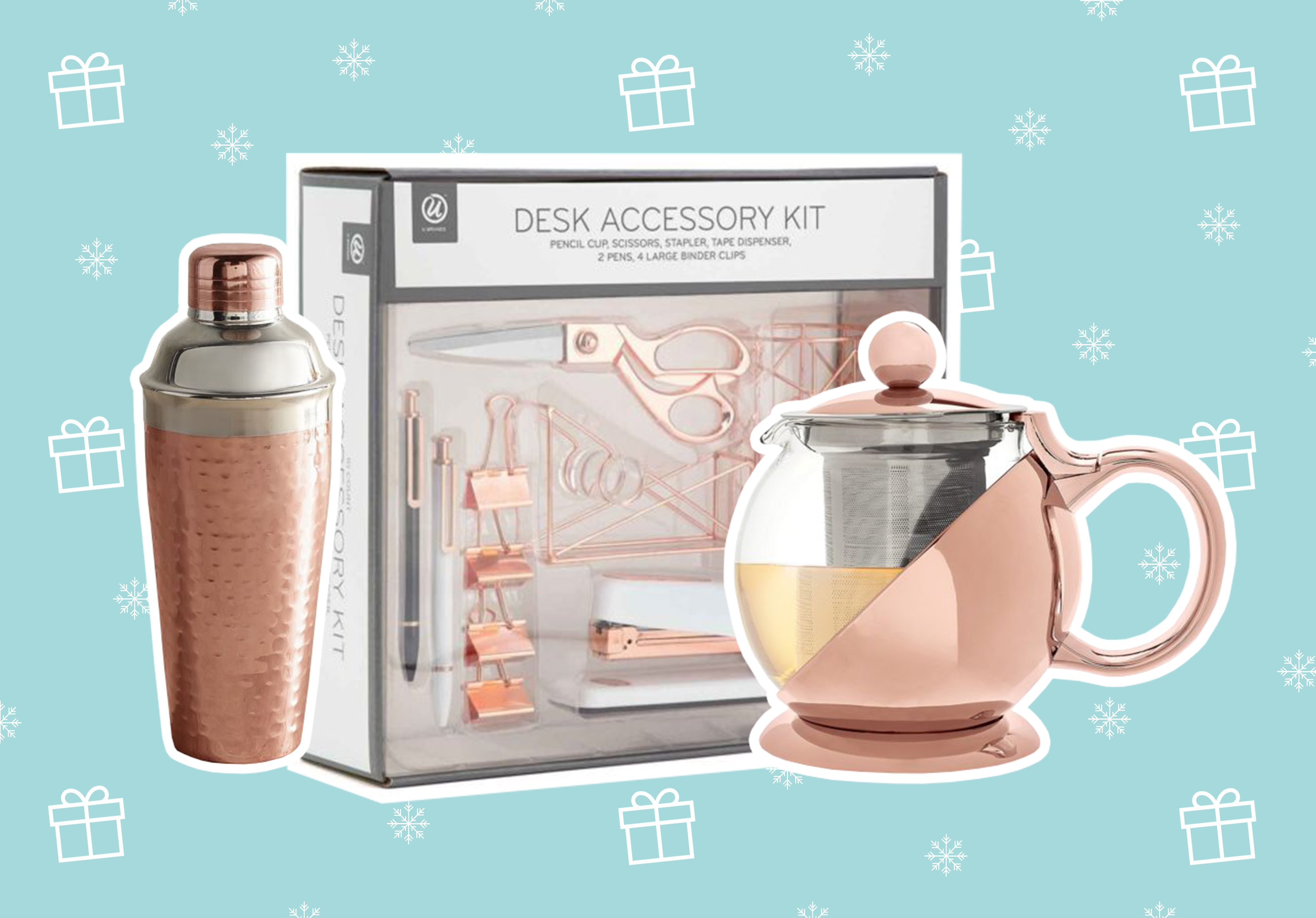 15 gifts for the rose gold enthusiast in your lives