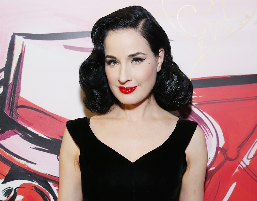 Hold on to your tassels — Dita Von Teese is releasing an album