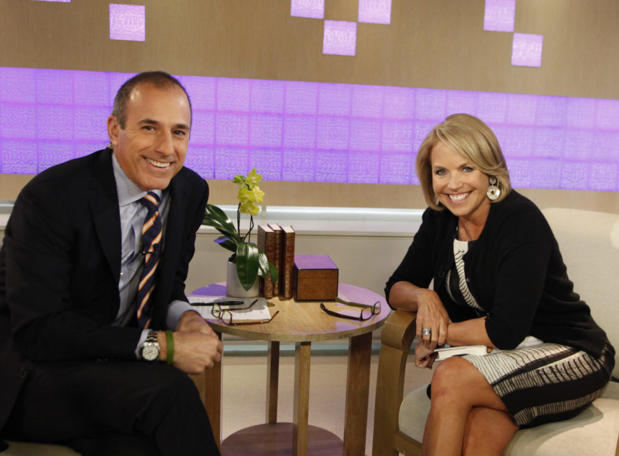"""A 2012 interview with Katie Couric has resurfaced where she says Matt Lauer """"pinches me on the ass a lot"""""""