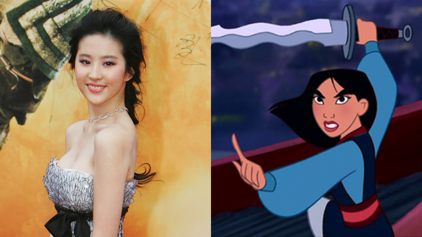 Who is playing Mulan in the live-action movie? Here's what you need to know about Crystal Liu