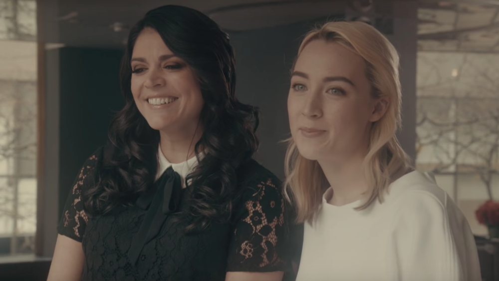 """Lady Bird's"" success has *really* gone to Saoirse Ronan's head in this ""Saturday Night Live"" promo"