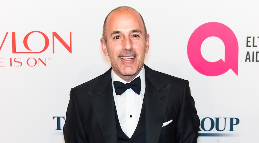Matt Lauer apparently had a button under his desk that locked his office door