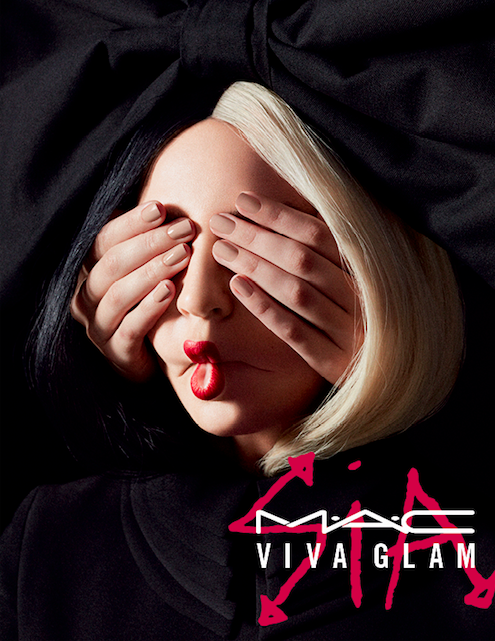 "MAC and Sia are collaborating on a Viva Glam lipstick, and it's tugging at our ""elastic heart"""