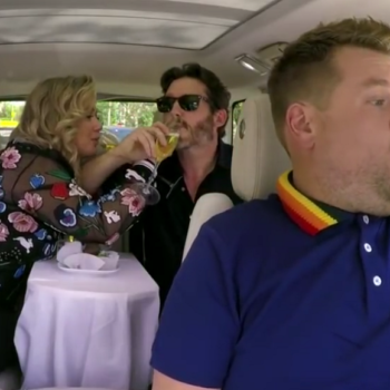 """Kelly Clarkson had a date night with her husband during """"Carpool Karaoke"""""""