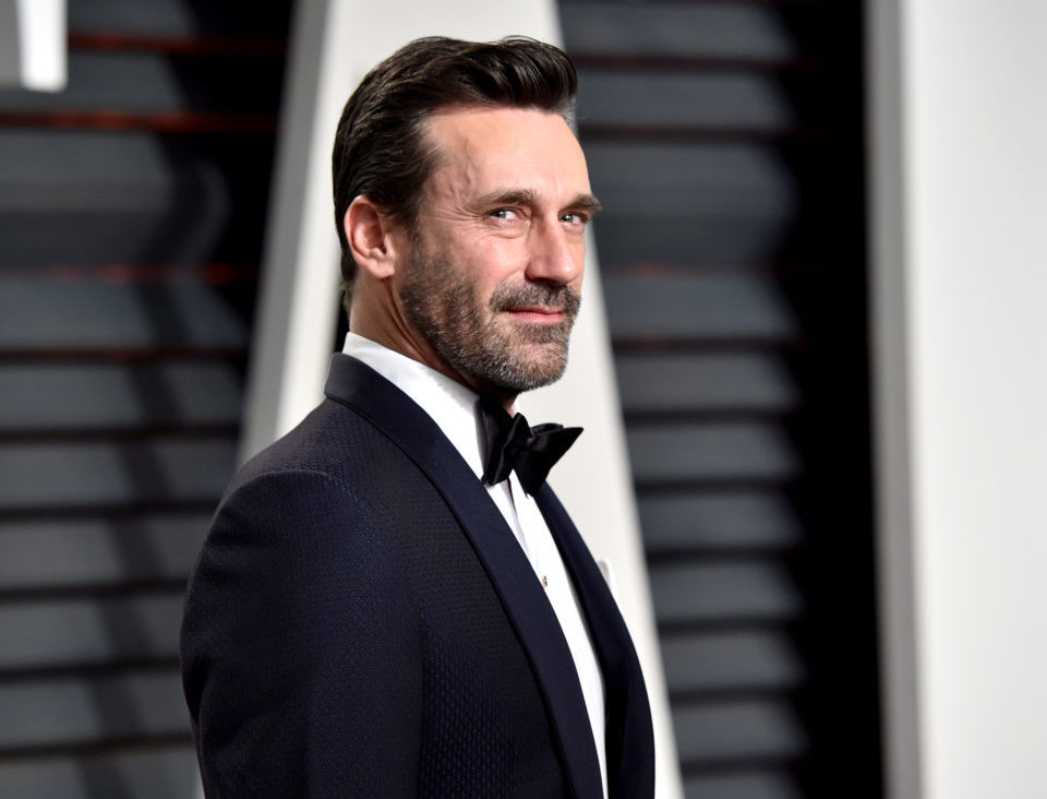 "Glory to Jon Hamm in the highest — the first photo of him as Angel Gabriel in ""Good Omens"" is here"