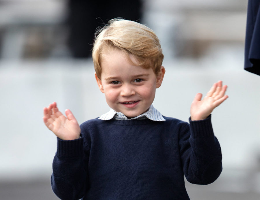 Prince George handwrote what he wants this year from Santa, and can we pinch his cheeks already?