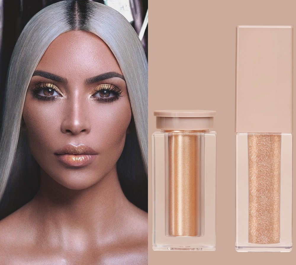 When do KKW Beauty's glitter glosses and highlighters launch? Here's when to set your alarms
