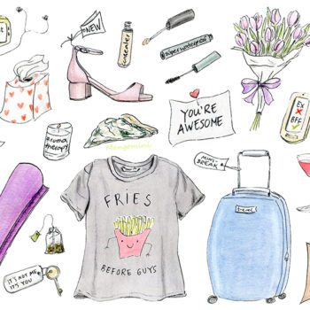 Everything you need to survive a breakup, illustrated