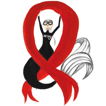 Mermaids know we need to stay strong for World AIDS Day