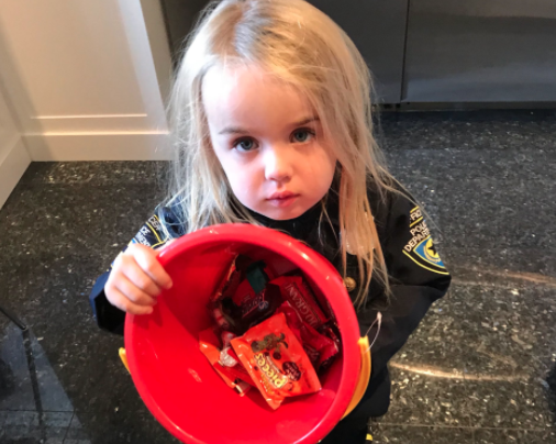Donald Trump Jr. used Halloween to teach his daughter about...socialism?