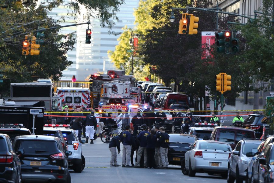 "The truck crash in New York City is officially being called an ""act of terror"""