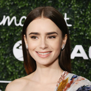 Lily Collins pulled a Selena Gomez and dyed her hair blonde