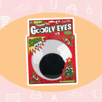 WANT/NEED: Googly eyes for your Christmas tree, and other stuff you want to buy