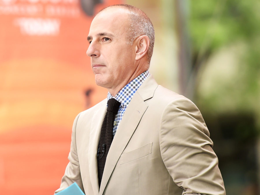 Matt Lauer quit social media amid sexual misconduct allegations