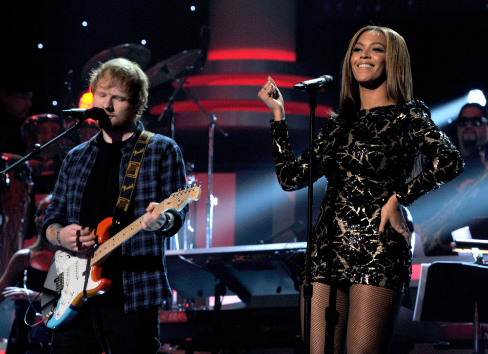Grab your headphones — Ed Sheeran and Beyoncé just released a duet and we can't stop listening to it