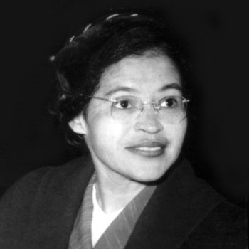 Rosa Parks was the first woman to teach me resistance