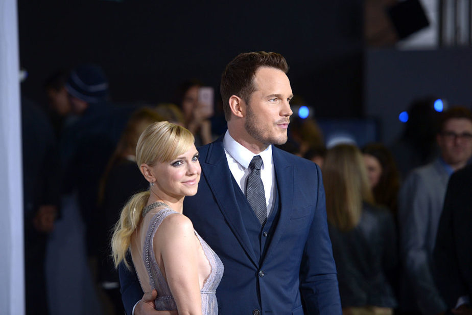 Chris Pratt filed for divorce from Anna Faris