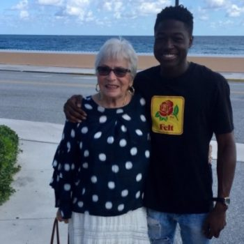 A 22-year-old man and an 86-year-old woman who play Words With Friends together finally met IRL, and the pictures will melt your heart