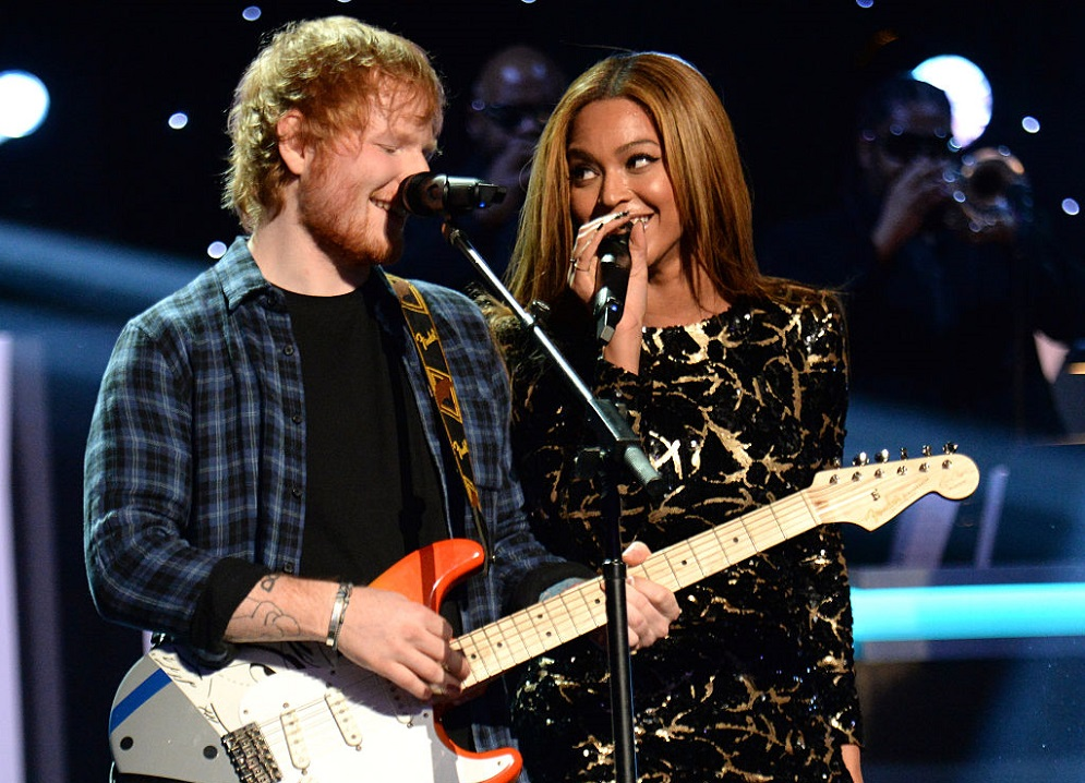 Ed Sheeran revealed the weird way he gets in touch with Beyoncé
