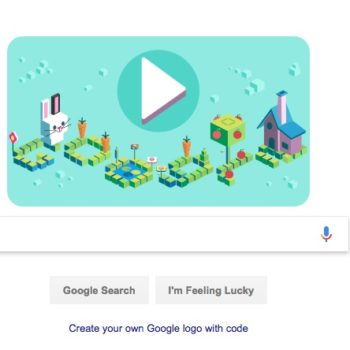 Today's Google Doodle teaches you how to code with an adorable bunny game, and it's cool AF