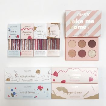 ColourPop released cute stocking stuffer makeup sets, just in time for the holiday season